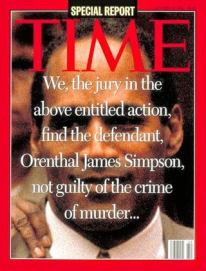 1995 OJ Verdict Time Cover