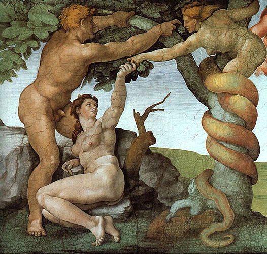 Michelangelo - Fall From Grace - Sistine Chapel