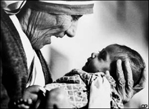Photography of Mother Theresa (1978) by Eddie Adams available at www.monroegallery.com/display.cfm?id=66