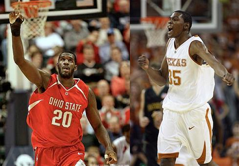 Greg Oden and Kevin Durant