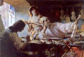 Antonio Stradivari, by Edgar Bundy, 1893