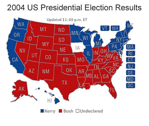 Map Of 2008 Election
