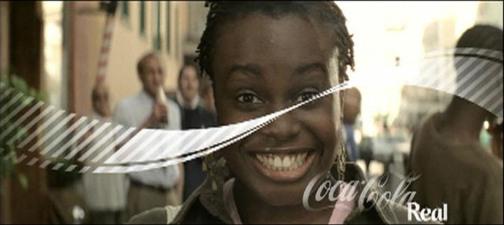 Coca Cola ad - Smile