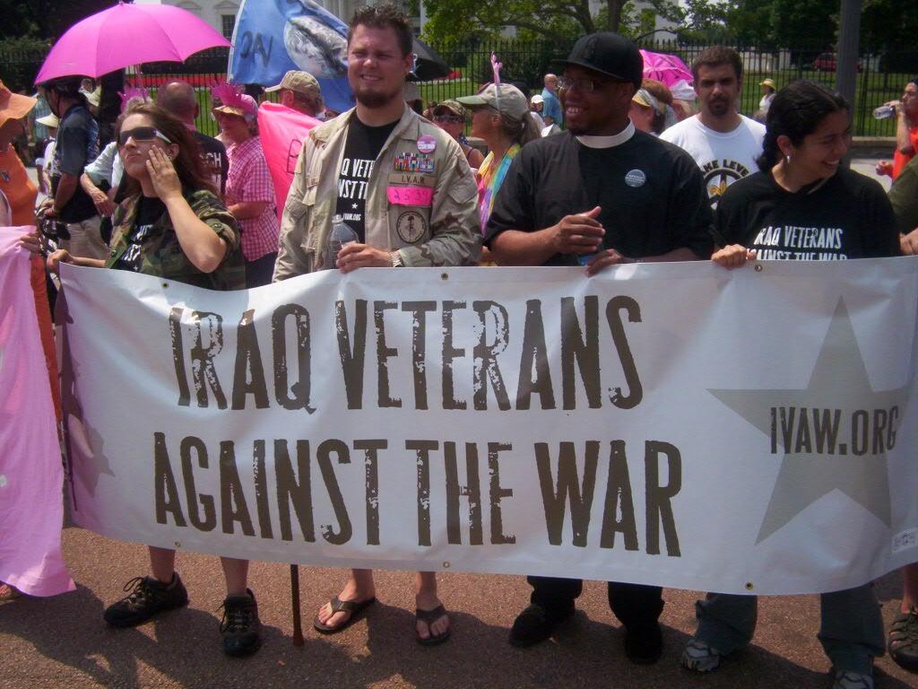 Iraq Vets against the war
