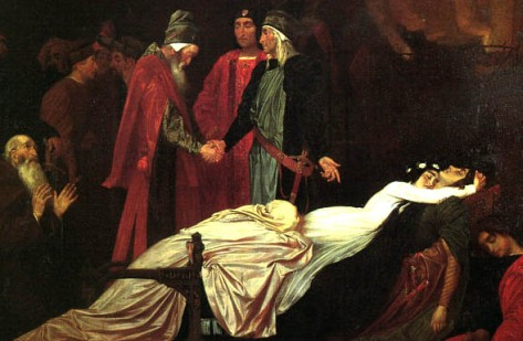 Lord Leighton Frederic, The Reconciliation of the Montagues and Capulets