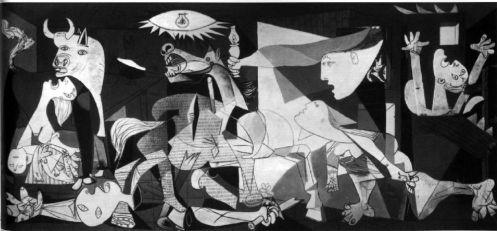 """Picasso, """"Guernica"""" (1937)"""