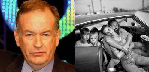 Bill O'Reilly and Homelessness