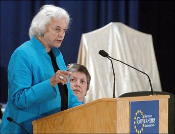Former Justice Sandra Day O'Connor