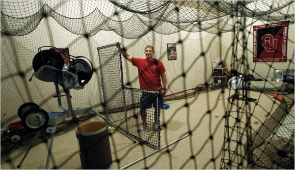 Willits in his Cage, by Bryan Terry for The New York Times