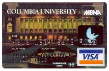 Columbia University Visa