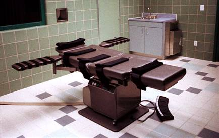 Execution Room U.S. Penitentiary in Terre Haute, Ind. - From Chuck Robinson/AP