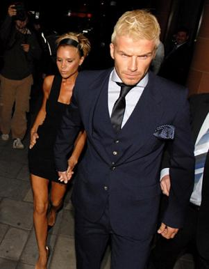 Posh and David Beckham