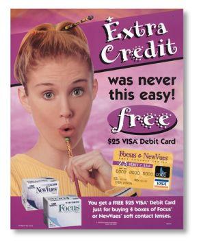 "Visa ""Extra Credit"" Ad"