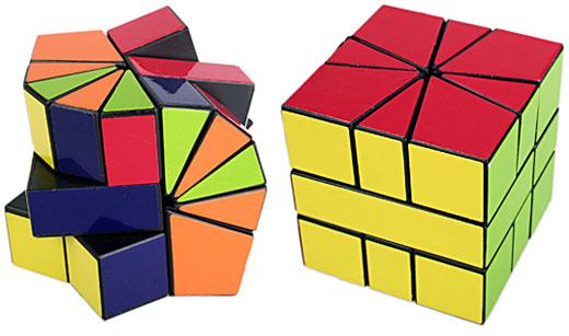ЭТО называется Irregular IQ Cube (Неправильный IQ кубик).  Из состояния слева на фото необходимо сложить кубик именно...