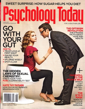 Psychology Today June 2007 Cover