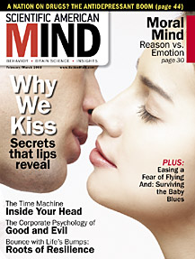 Scientific American Mind Cover - 1/31/08