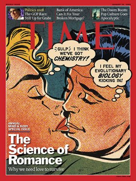 Time Magazine Cover - Science of Romance