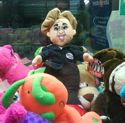 Hillary Clinton Doll