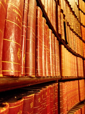 Law Books - by F.S.M. on Flickr