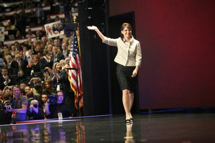 Sarah Palin Convention - By Tom LeGro, NewsHour