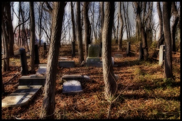 Winter Cemetery - by andy in nyc