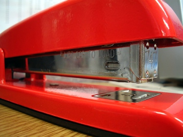 Red Stapler - Codefin (flickr)