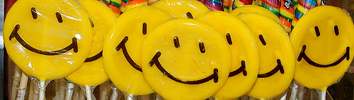 Smiley Face Suckers