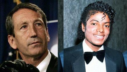 Mark Sanford Michael Jackson