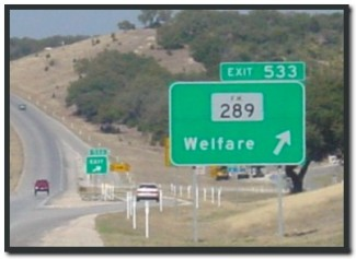 Welfare Sign