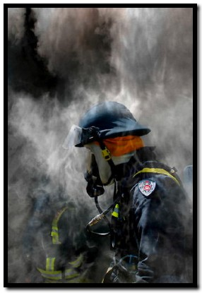 Firefighter - by Rossco (Image Focus Australia)