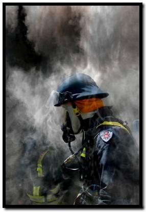 Firefighter - by Rossco (Image Focus Australia)