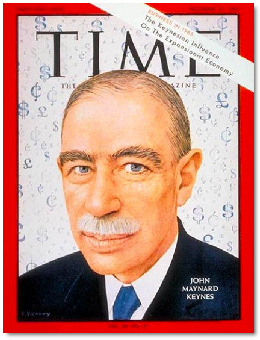 John Maynard Keynes Time Cover
