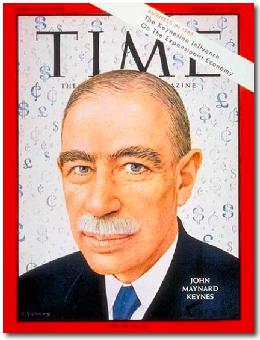John Maynard Keynes Time Cover