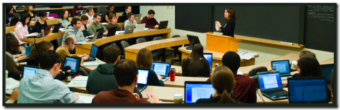 Harvard Law School Classroom