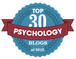 Top 30 Psychology Blogs of 2012