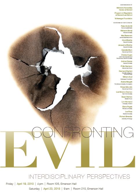 Confronting Evil Poster