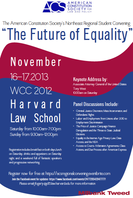 acs future of equality poster 2013