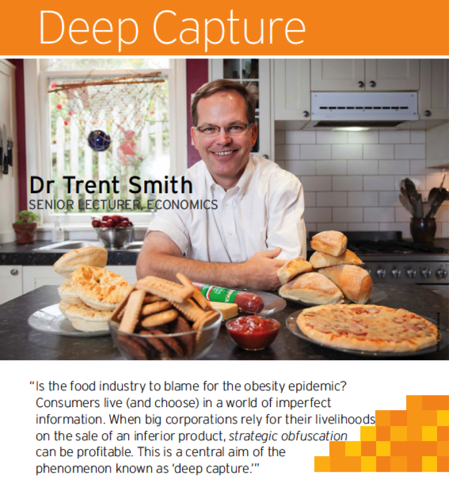 Trent Smith on Deep Capture and Obesity ? The